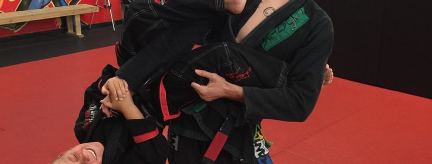 tapping in bjj
