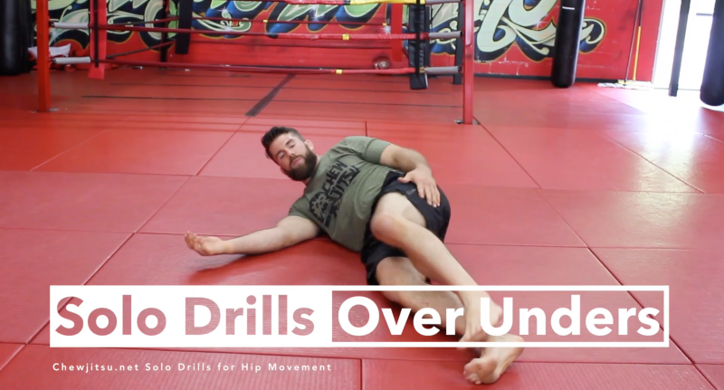 How to Do BJJ Drills with No Training Partners - Chewjitsu net